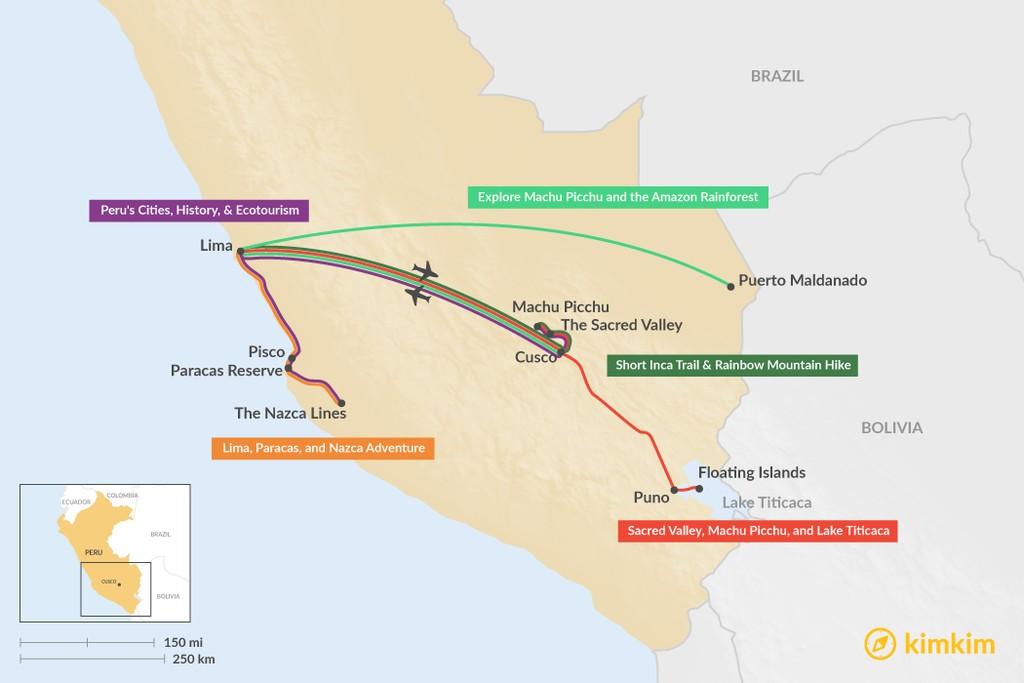 7 Days In Peru 5 Unique Itinerary Ideas Kimkim