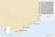 Map thumbnail of Taste, Cook & Experience the Real Algarve - 7 Days