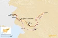 Map thumbnail of How to Get from Goriška Brda to Ljubljana