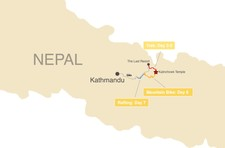 Map thumbnail of Kalinchowk Multi-Sport Adventure - 8 Days
