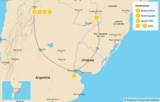 Map thumbnail of Discover Northern Argentina - 8 Days