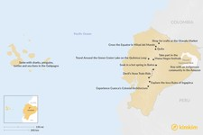 Map thumbnail of Best Things to Do in Ecuador