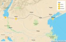 Map thumbnail of Highlights of Venice, Verona & Lake Garda - 9 Days