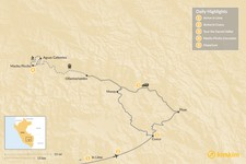 Map thumbnail of Sacred Valley Highlights - 5 Days