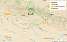 Map thumbnail of Wild & Remote West Nepal - 6 Days