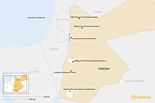 Map thumbnail of Planning Your Honeymoon in Jordan