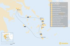 Map thumbnail of Family Adventures in Athens and the Cyclades - 12 Days