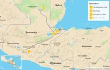 Map thumbnail of Guatemala Mayan Journey: Tikal, Río Dulce, & Quirigua Ruins - 5 Days