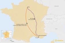 Map thumbnail of How to Get from Paris to Aix en Provence