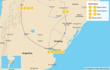 Map thumbnail of Discover Northern Argentina - 12 Days