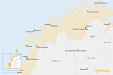 Map thumbnail of Top 7 Lapland and Northern Norway Summer Experiences