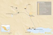Map thumbnail of Discover Guadalajara - 8 days