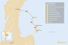 Map thumbnail of Thailand Island Hopping - 10 Days