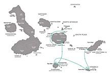 Map thumbnail of Wildlife of the Galapagos - 5 Days