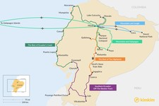Map thumbnail of 10 Days in Ecuador - 5 Unique Itineraries