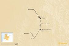 Map thumbnail of How to Get from Barichara to Bucaramanga