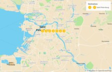 Map thumbnail of Art & History in St. Petersburg - 7 Days