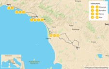 Map thumbnail of Cinque Terre and the Italian Riviera - 13 Days