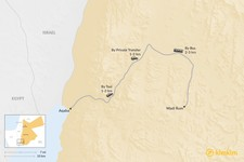Map thumbnail of How to Get from Wadi Rum to Aqaba