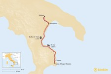 Map thumbnail of How to Get from Matera to Isola di Capo Rizzuto