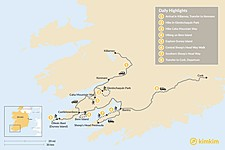 Map thumbnail of Guided Kerry & Cork Walk - 8 Days