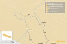 Map thumbnail of Karnali Rafting & Kayaking - 13 Days