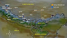 Map thumbnail of Trekking Nepal & Tibet: Mt. Kailash Kora - 21 Days