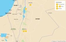 Map thumbnail of Highlights of Jordan: The Dead Sea, Petra, Wadi Rum, Amman,  & Jerash - 5 Days