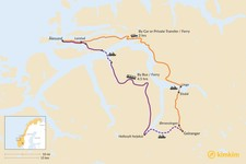 Map thumbnail of How to Get from Ålesund to Geiranger