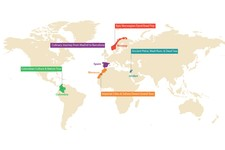 Map thumbnail of 5 Best Trips to Take in 2020: Spain, Morocco, Norway, Jordan, & Colombia