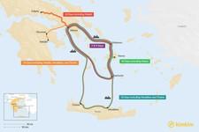 Map thumbnail of Athens, Santorini, & Mykonos: Best Itinerary Ideas