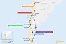 Map thumbnail of 10 Days in Chile - 5 Unique Itinerary Ideas