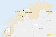Map thumbnail of Best Family-Friendly Lodging in Lapland & Northern Norway