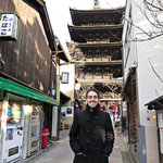 Andres in Kyoto