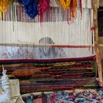 Berber Rug Making | Photo taken by Jordan A