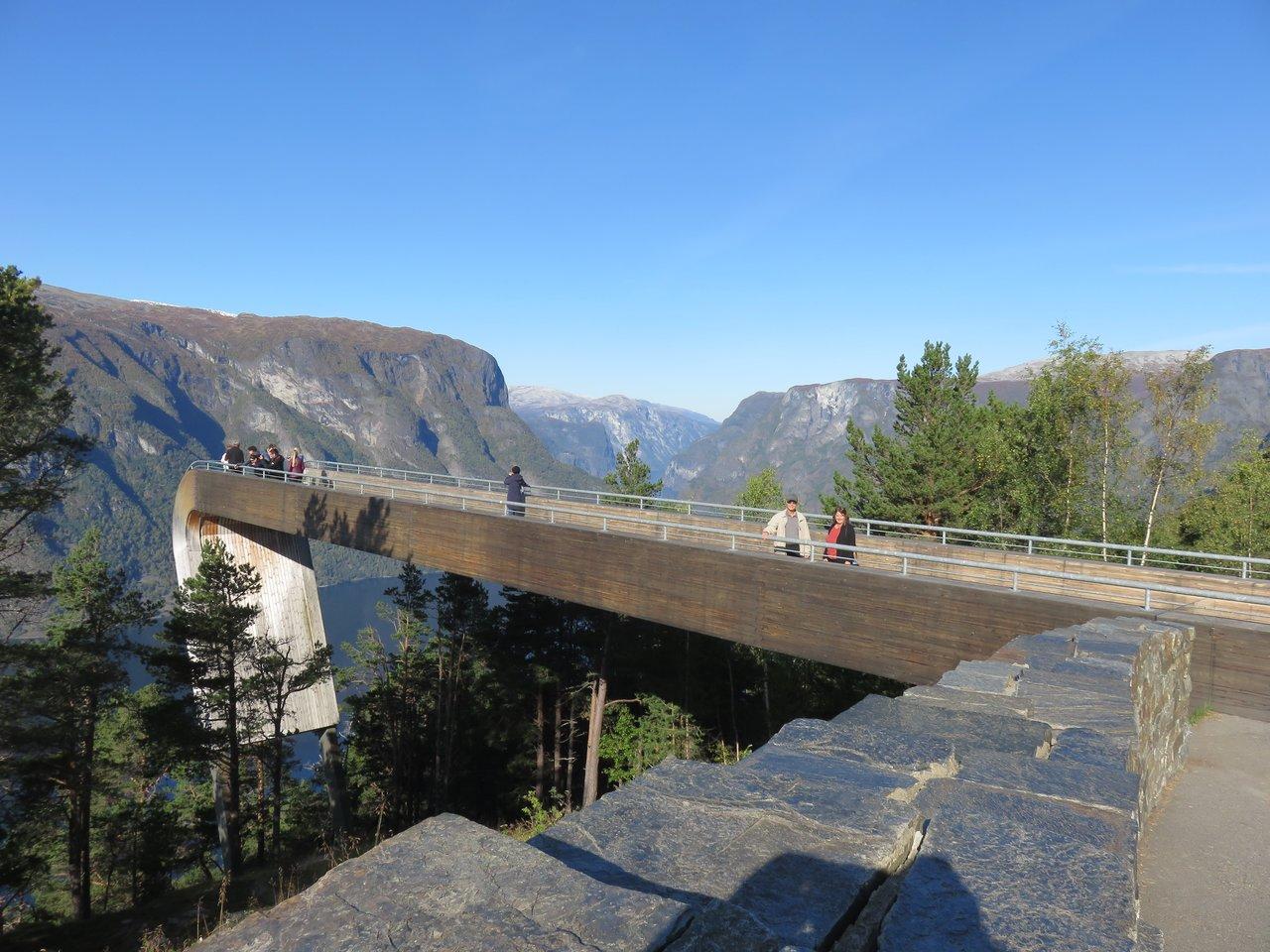 Stegastein Viewpoint | Photo taken by Mary K