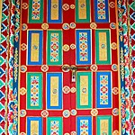 Day 3: the colourful, welcoming doors of Namobhuddha Monestary  | Photo taken by Vidushi G