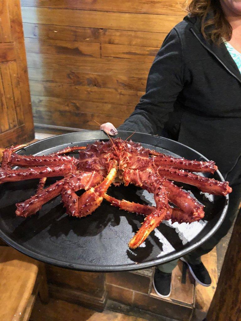 King Crab in Punta Arenas | Photo taken by Melody B