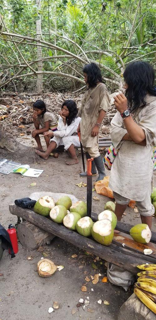 Kogui Tribe Tayrona | Photo taken by Ligia M