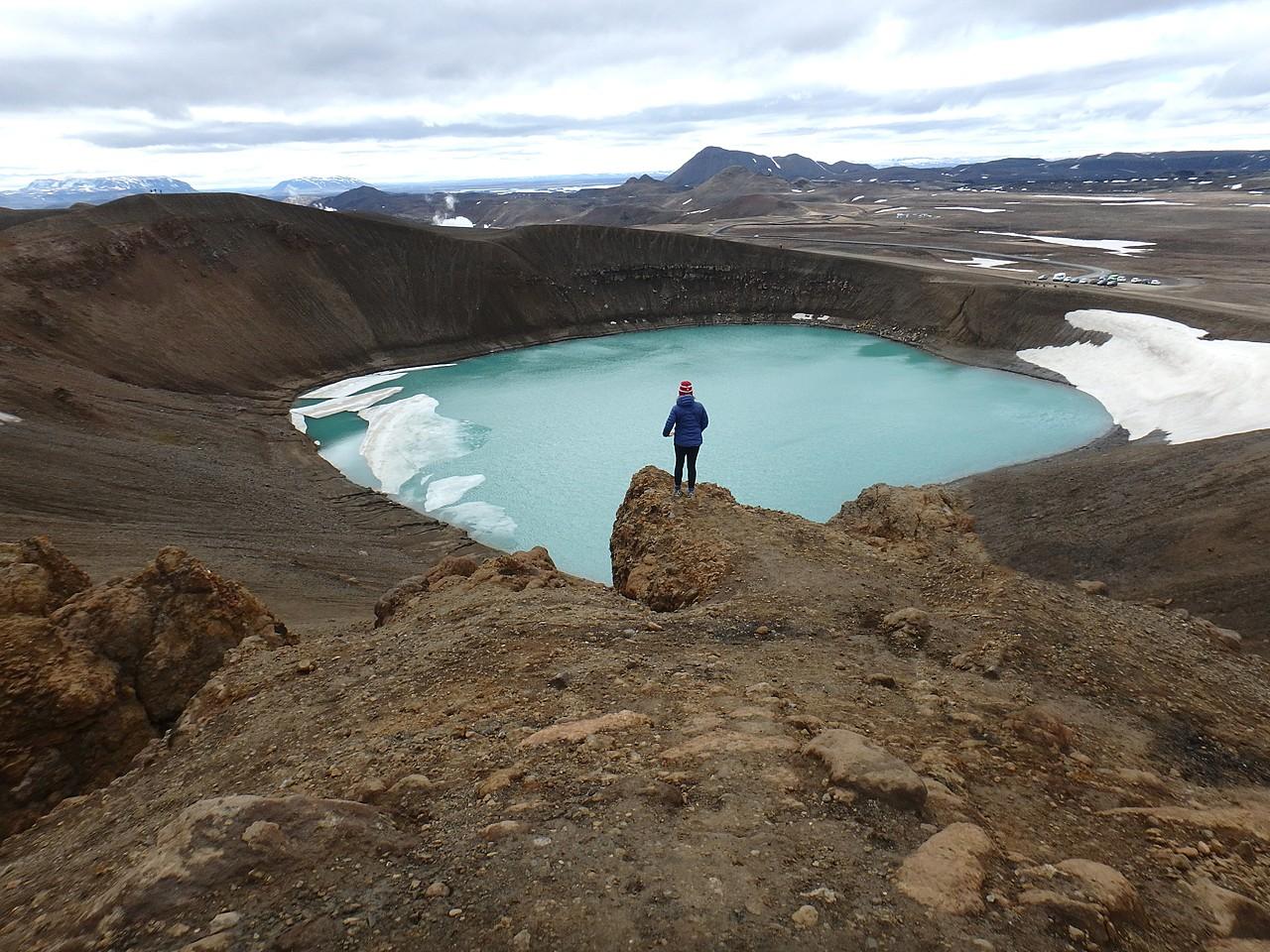 Krafla volcano   Photo taken by Kim C
