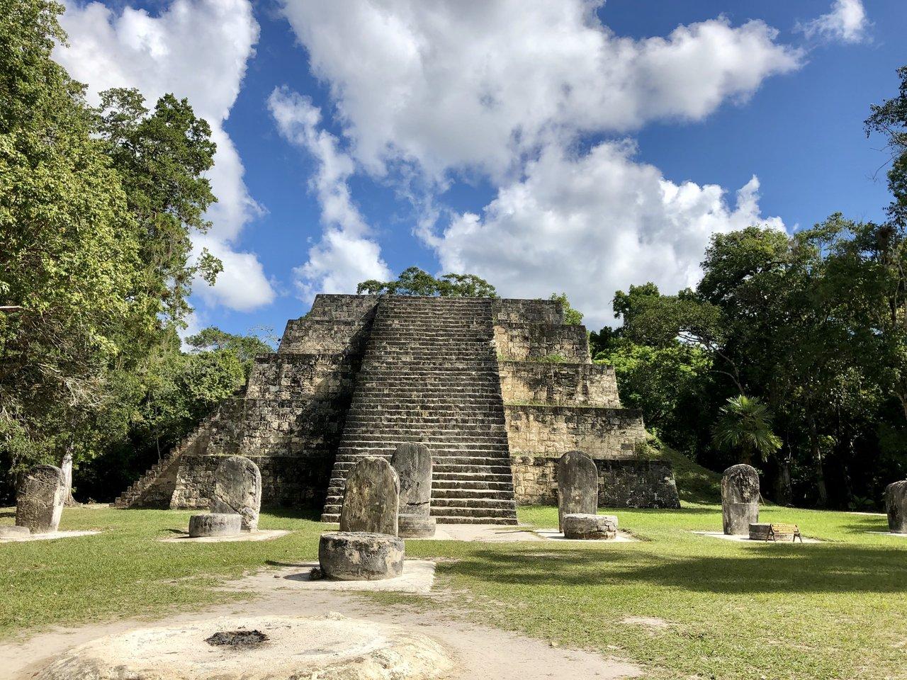 At Tikal | Photo taken by BRAD K