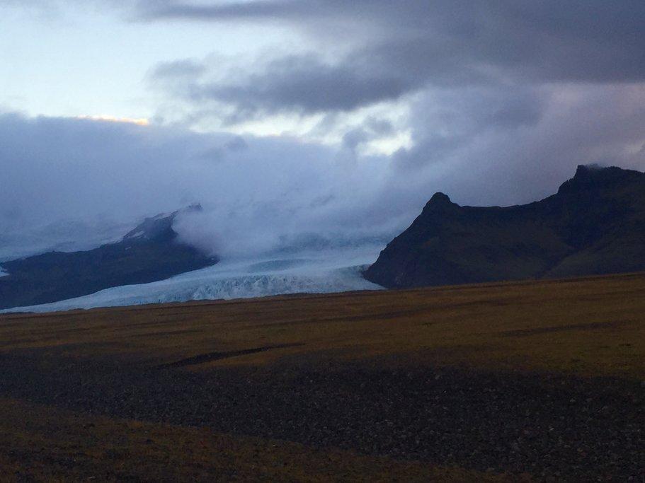 Giant frozen glacier, Jokulsarlon  | Photo taken by Marisa K