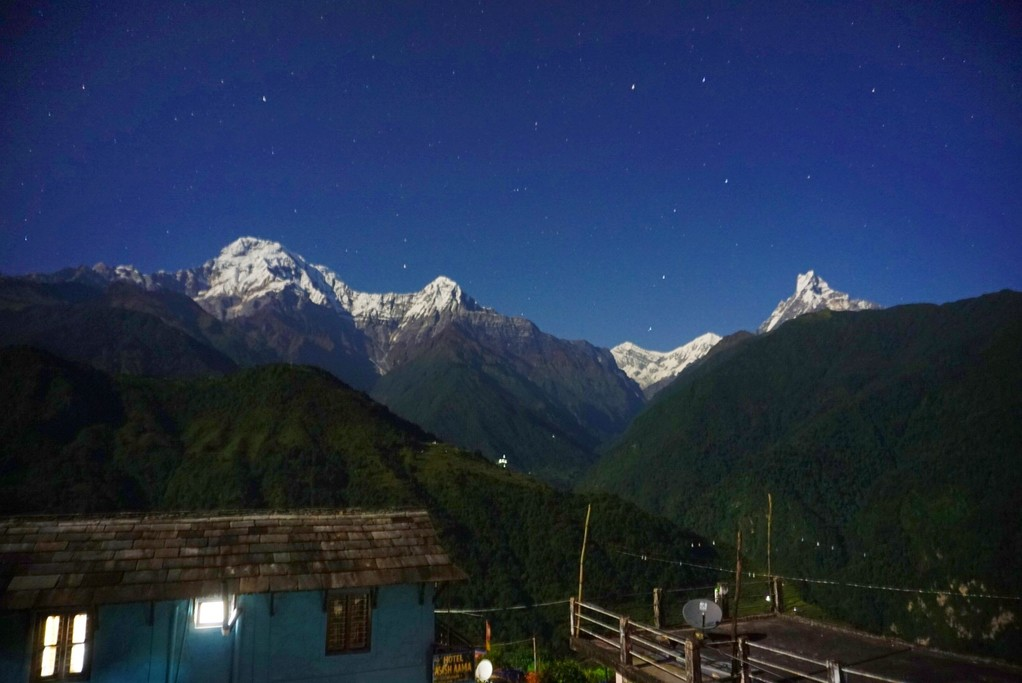 Our view at Ghandruk!  | Photo taken by Firhan H
