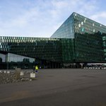 Harpa Concert Hall | Photo taken by Grace L