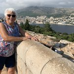 View of Dubrovnik from Fort Royal Castle, Lokrum | Photo taken by Eva W
