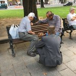 Chess in the square | Photo taken by Barbara D