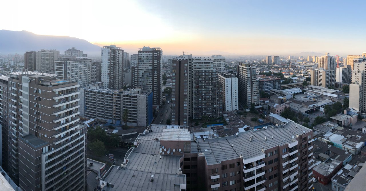 View of Santiago from our Gen Rooms Hotel | Photo taken by Melody B