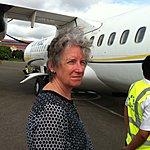 Nice flight, bumpy landing | Photo taken by Rodney S