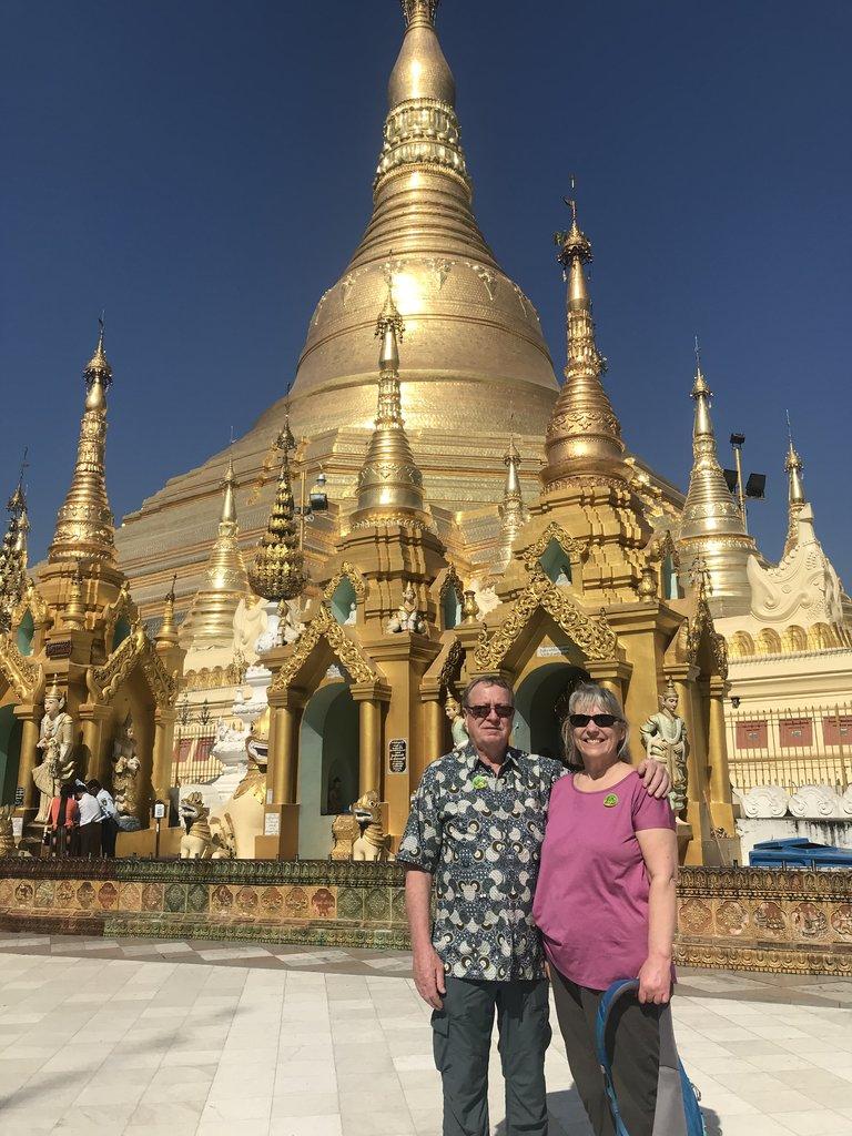 Shwedagon | Photo taken by Bonnie S