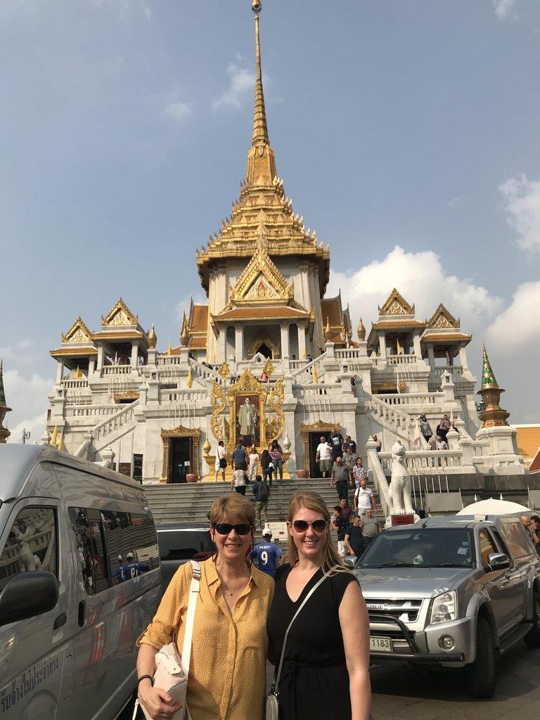 So many temples! | Photo taken by Deborah B